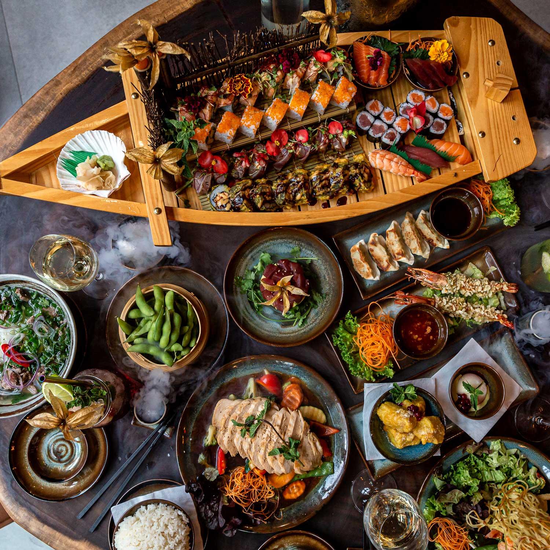 Traditional Asian Fusion Kitchen Umibar